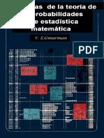 Problemas de La Teoría de Las Probabilidades y de Estadística Matemática - V. E. Gmurman