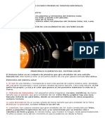 Resumen de Sistema Solar