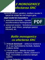 CURS- Bolile Neurogenetice Monogenice