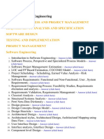 Software Engineering - Lecture Notes, Study Material and Important Questions, Answers