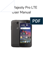 2 3 user manual zte majesty pro
