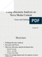 Using Discourse Analysis on News Media Content (1).ppt