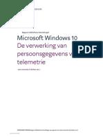 AP Onderzoek Microsoft Windows 10 Okt 2017