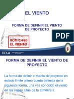 Tema 1. ANEJO 1.El Viento. Forma de Definir El Viento de Proyecto