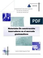 Materiales Construccion Guatemalteco