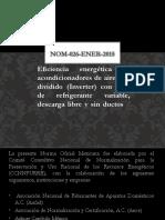 EXPO. NOM-026-ENER2015