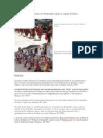 Clasificación de Las Danzas de Guatemala Según Su Origen Histórico