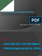 Clase 14 - Analisis de Los Sistemas Previsionales (2)