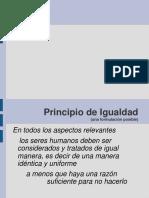 Igualdad - derechos humanos. (Catedra Roberto Vicente)