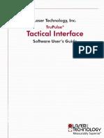 LT TruPulse Tactical Interface Sfw Users Guide.1