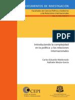 MALDONADO- Introduciendo La Complejidad en La Politica