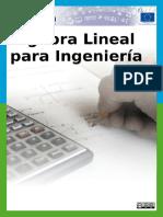 Algebra Lineal Para Ingenieria CC by SA 3 0 PDF