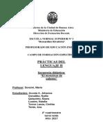Secuencia Didáctica p. Del l. 2