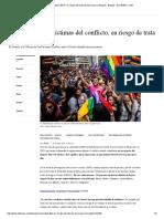 Comunidad LGBTI, En Riesgo de Trata de Personas en Bogotá - Bogotá - ELTIEMPO.com