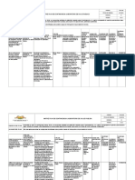 F-SA-168 Matriz Plan de Contingencia LSP V1
