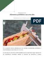 Alimentos Prohibidos Con Urea Alta - Diagnostico en Casa (1)