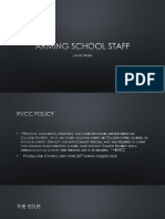 arming school staff