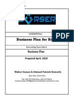 Borser Business Plan for crypto currency