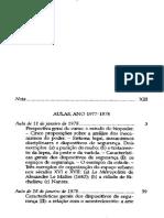 FOUCAULT, Michel - Seguranca, territorio e população. Curso no College de France. texto 2.pdf