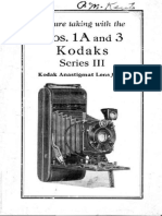 Kodaks Nos 1A and 3 Series III