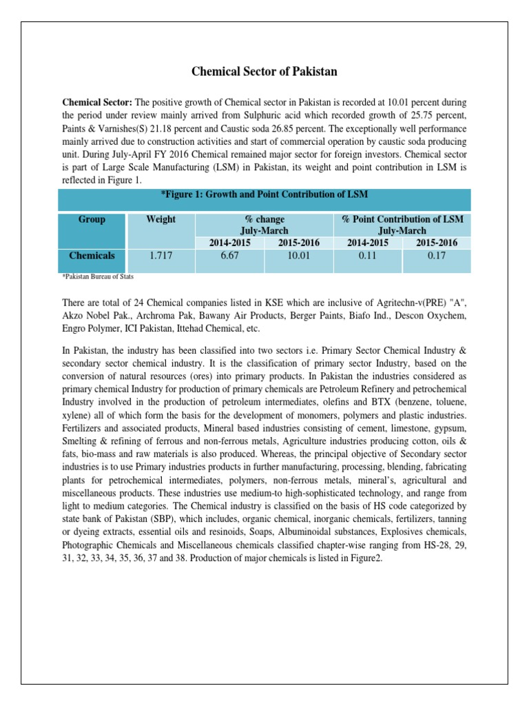 17_Chemical sector (1) pdf | Chemical Industry (6 views)