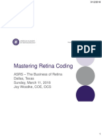 asrs 2018 mastering retina coding joy woodke