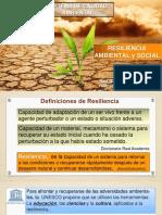 9. CLASE SCA. Resiliencia Ambiental y Social 30 Enero 2017