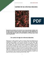 Uribarri, Iñaqui - Historia y Actualidad de Las Reformas Laborales