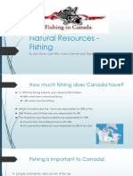 Natural Resources - Fishing