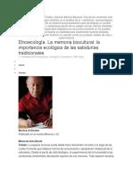 Entrevista Con Víctor Toledo y Narciso Barrera