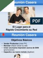 Reuniones Caseras
