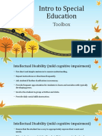 intro to special education
