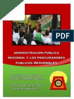 Trabajo e Municipal El Procurador Regional Listo