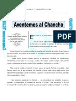 Ficha Aventemos Al Chancho Para Cuarto de Primaria