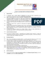 Informacoes Processo Seletivo Colegio Recife