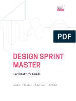 Design Sprint Facilitation Guide