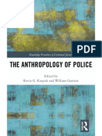 The Anthropology of Police (Routledge, 2018), Front Matter & Introduction