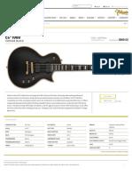 EC-1000 - The ESP Guitar Company