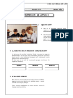 I BIM-1ero-RV-Comprensión de Lectura I