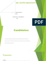 Consulta Del Centro Democrático