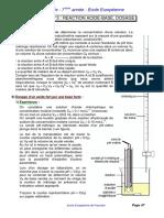 S7 Chapitre 03 Reaction Acide Base Dosage