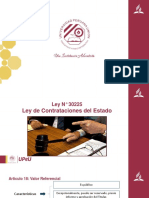 LEY 30225 Articulo 18