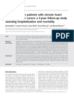 Quality of Life in Patients With Chronic Heart