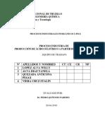 Produccion de Acido Sulfurico a Partir de La Pirita