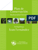 Plan de Conservacion Archipielago Juan Fernandez