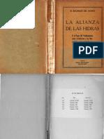 LA ALIANZA DE LAS HIDRAS. EL BACHILLER DEL MONTE. 1944.