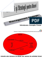 Concepte strategice in management