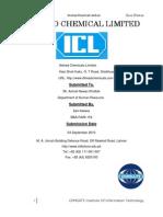 ICL Internship Report