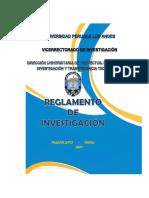 PDF Reglamento de Investigación Upla