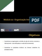 M02 OTET Organizacao Mundial Turismo